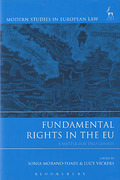 Cover of Fundamental Rights in the EU: A Matter for Two Courts