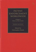 Cover of Patent Enforcement Worldwide: Writings in Honour of Dieter Stauder