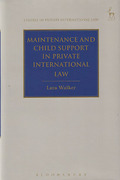 Cover of Maintenance And Child Support in Private International Law