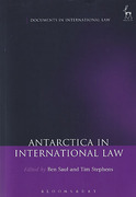 Cover of Antarctica in International Law