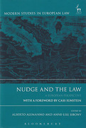 Cover of Nudge and the Law: A European Perspective