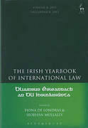 Cover of The Irish Yearbook of International Law Volume 8: 2013