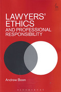 Cover of Lawyers' Ethics and Professional Responsibility