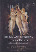 Cover of The UK and European Human Rights: A Strained Relationship?