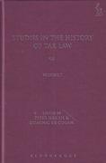 Cover of Studies in the History of Tax Law: Volume 7
