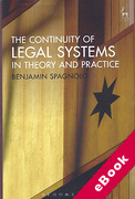 Cover of The Continuity of Legal Systems in Theory and Practice (eBook)