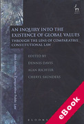 Cover of An Inquiry into the Existence of Global Values: Through the Lens of Comparative Constitutional Law (eBook)