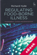 Cover of Regulating Food-Borne Illness: Investigation, Control and Enforcement (eBook)