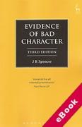 Cover of Evidence of Bad Character (eBook)