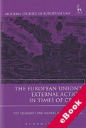 Cover of The European Union's External Action in Times of Crisis (eBook)