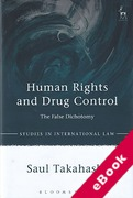 Cover of Human Rights and Drug Control: The False Dichotomy (eBook)