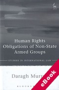 Cover of Human Rights Obligations of Non-State Armed Groups (eBook)