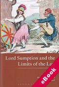 Cover of Lord Sumption and the Limits of the Law (eBook)