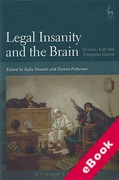 Cover of Legal Insanity and the Brain: Science, Law and European Courts (eBook)