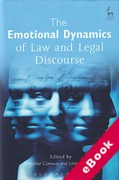 Cover of The Emotional Dynamics of Law and Legal Discourse (eBook)