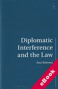 Cover of Diplomatic Interference and the Law (eBook)