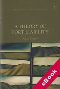 Cover of A Theory of Tort Liability (eBook)