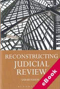 Cover of Reconstructing Judicial Review (eBook)