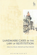 Cover of Landmark Cases in the Law of Restitution