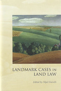 Cover of Landmark Cases in Land Law