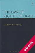 Cover of The Law of Rights of Light (eBook)