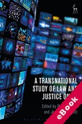 Cover of A Transnational Study of Law and Justice on TV (eBook)