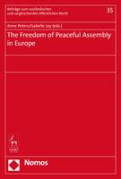 Cover of The Freedom of Peaceful Assembly in Europe
