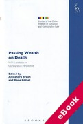 Cover of Passing Wealth on Death: Will-Substitutes in Comparative Perspective (eBook)