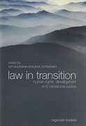 Cover of Law in Transition: Human Rights, Development and Transitional Justice