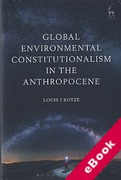 Cover of Global Environmental Constitutionalism in the Anthropocene (eBook)