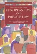 Cover of Cases, Materials and Text on European Law and Private Law