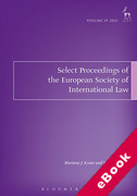 Cover of Select Proceedings of the European Society of International Law (eBook)