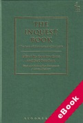 Cover of The Inquest Book: The Law of Coroners and Inquests (eBook)
