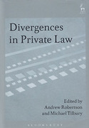 Cover of Divergences in Private Law