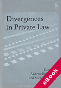 Cover of Divergences in Private Law (eBook)
