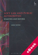 Cover of Soft Law and Public Authorities: Remedies and Reform (eBook)