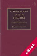 Cover of Comparative Law in Practice: Contract Law in a Mid-Channel Jurisdiction (eBook)