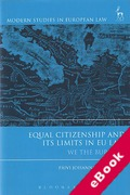 Cover of Equal Citizenship and its Limits in EU Law: We the Burden? (eBook)