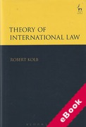 Cover of Theory of International Law (eBook)