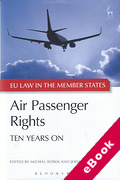 Cover of Air Passenger Rights: Ten Years On (eBook)