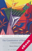 Cover of The Constitution of Romania: A Contextual Analysis (eBook)