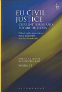 Cover of EU Civil Justice: Current Issues and Future Outlook