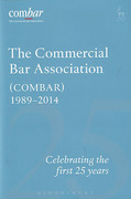 Cover of Commercial Bar Association (COMBAR) 1989-2014: Celebrating the First 25 Years