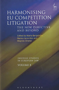 Cover of Harmonising EU Competition Litigation: The New Directive and Beyond