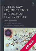 Cover of Public Law Adjudication in Common Law Systems: Process and Substance (eBook)