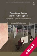 Cover of Transitional Justice and the Public Sphere: Engagement, Legitimacy and Contestation (eBook)