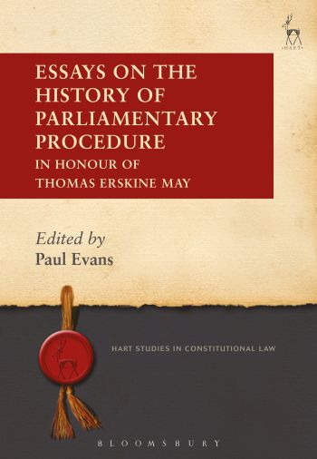 Wildy  Sons Ltd  The Worlds Legal Bookshop Search Results For  Essays On The History Of Parliamentary Procedure In Honour Of Thomas  Erskine May