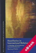 Cover of Humiliation in International Relations: A Pathology of Contemporary International Systems (eBook)