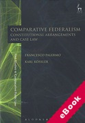 Cover of Comparative Federalism: Constitutional Arrangements and Case Law (eBook)