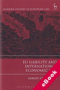 Cover of EU Liability and International Economic Law (eBook)
